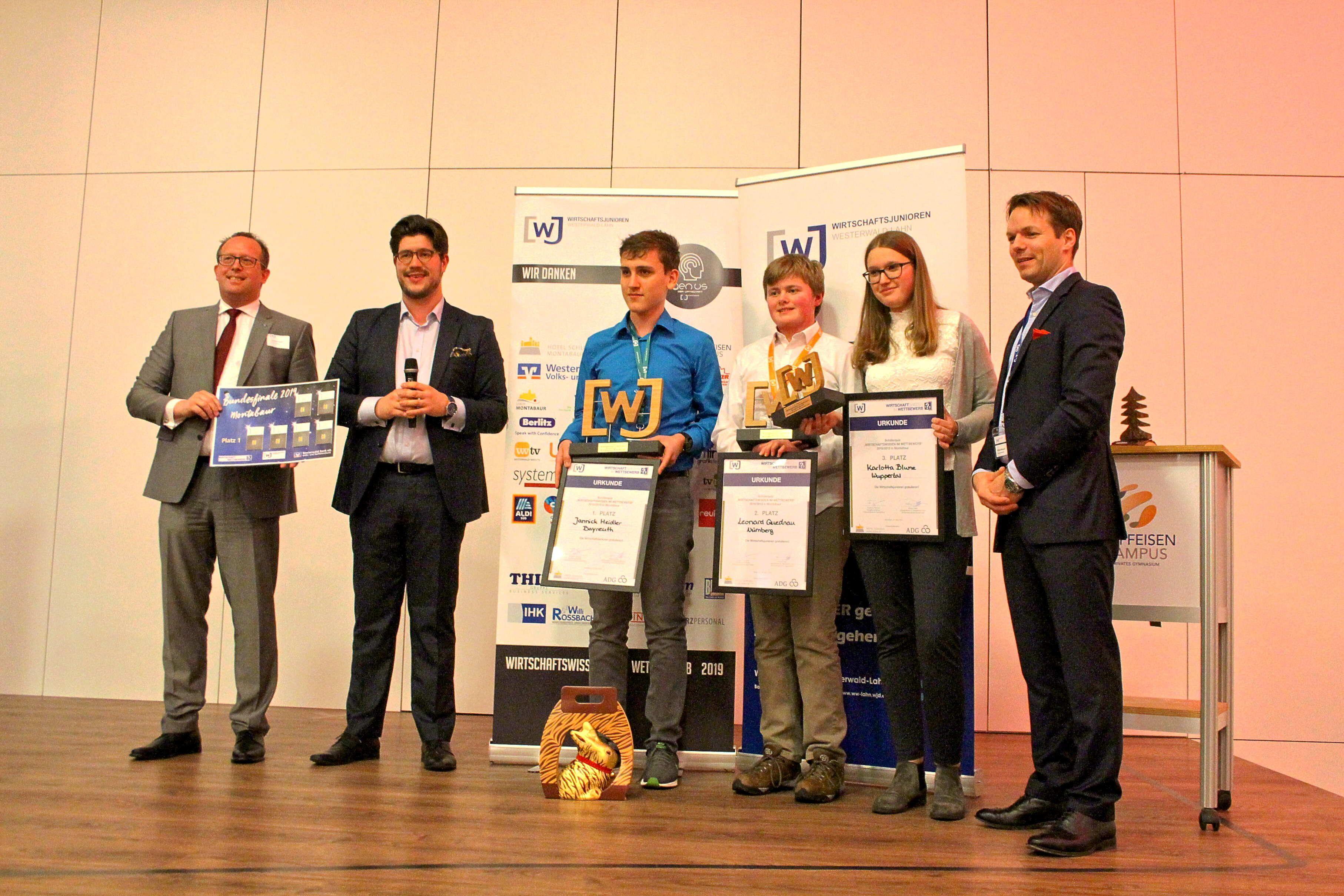 Im Raiffeisen-Campus in Montabaur fand das Bundesfinale